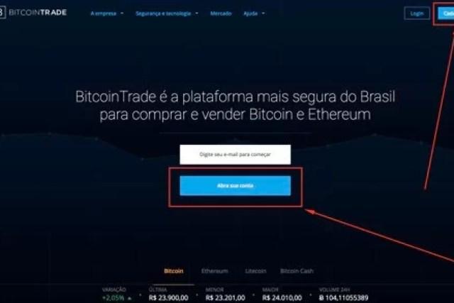 Como abrir conta na corretora Bitcoin Trade
