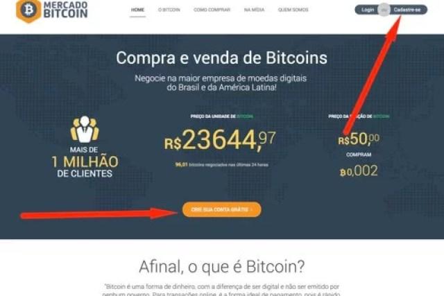 Como abrir conta na corretora Mercado Bitcoin