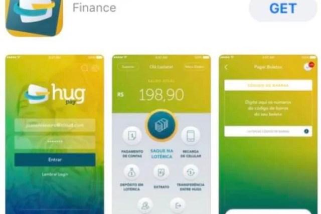 Como abrir conta digital Hug Pay