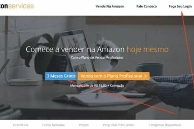 Como abrir conta para vender na Amazon