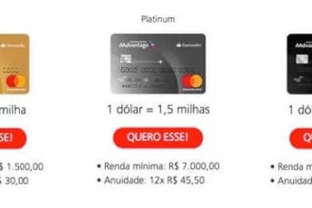 Como Solicitar o Cartão Santander AAdvantage
