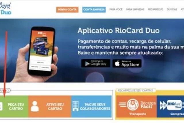 Como Solicitar o Cartão RioCard Duo