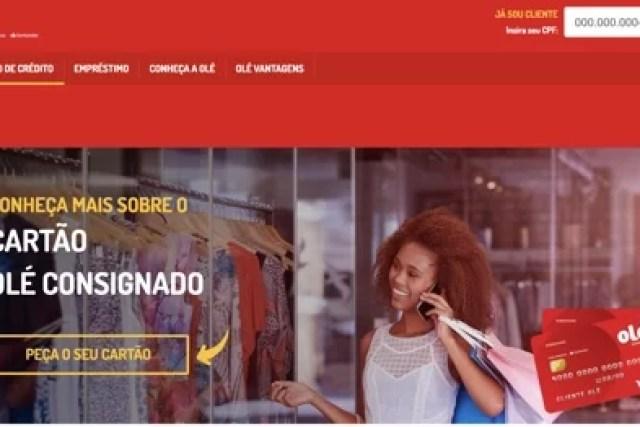 Cartão de Crédito Olé Consignado – Não Consulta CPF