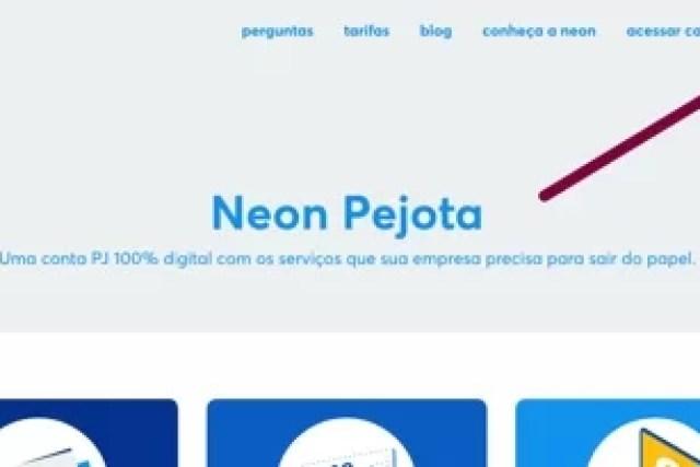 Neon Pejota – Conta Empresa 100% Digital e Grátis!