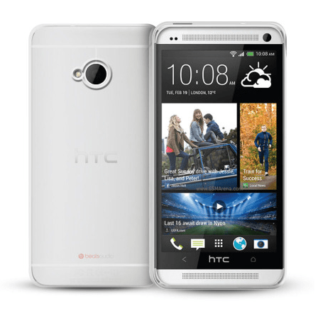 FlexiShield Case for HTC One - White