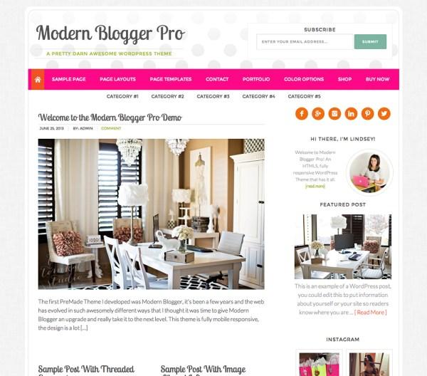 modernblogger theme