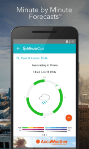 accuweather user interface 2