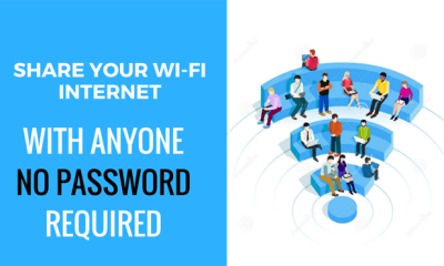 Share Your WiFi Internet With Anyone