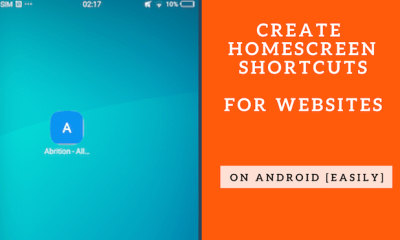 Create Home Screen Shortcuts For Your Favorite Websites