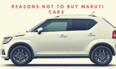 Strong Reasons Not To Buy Maruti Suzuki Cars