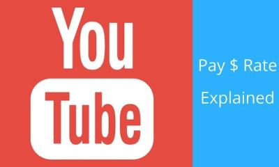 YouTube Pay Rate Explained