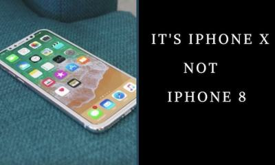 Apple iPhone X not iPhone 8