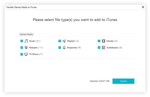 How to Sync iPhone to iTunes (Music, Playlists, Movies