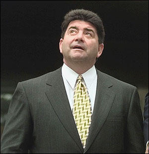 Eddie Debartolo   the  former owner  of  the  San  Francisco  Forty  Niners  ..............