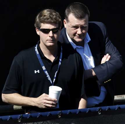 Hank and Al Steinbrenner  Co-Chairmen of the New York Yankees.......