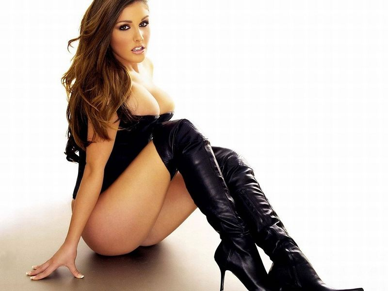 Lucy Pinder   one  of  a  slew  of females  included  in  Maxim's  Hot  100.