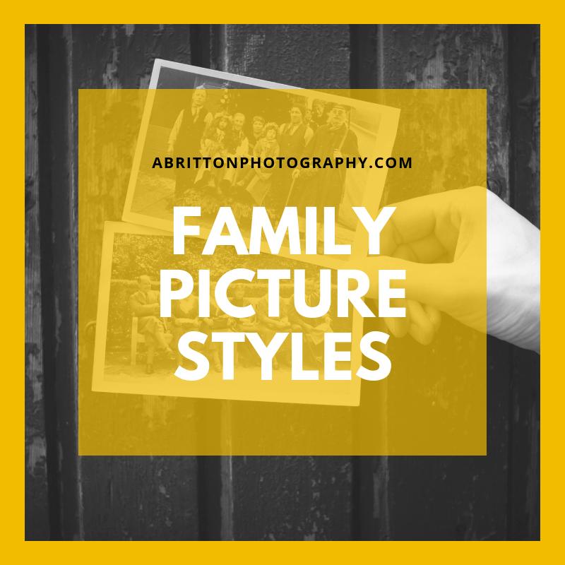 Family Photo Styles