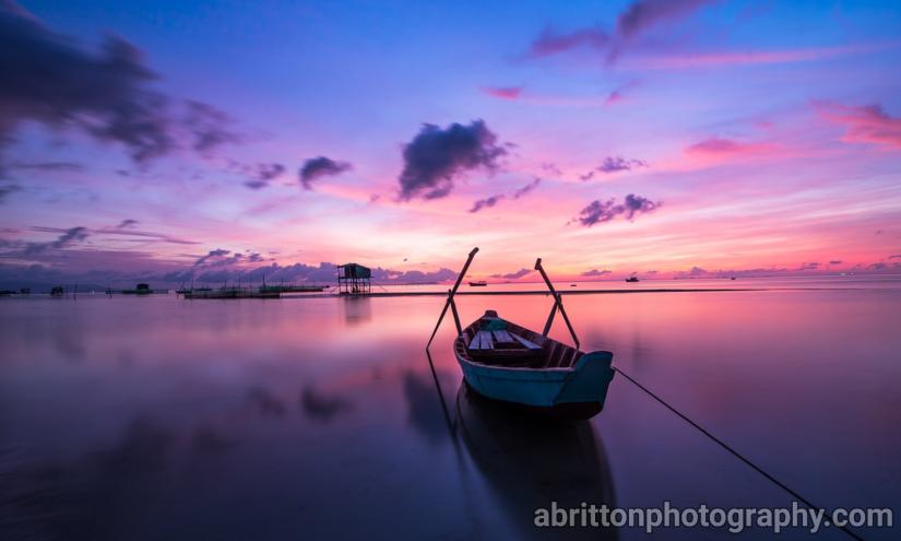 Sunset landscape photography ideas