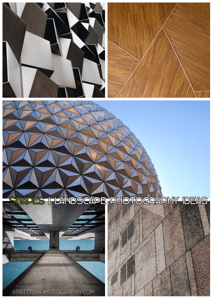 shapes landscape photography ideas