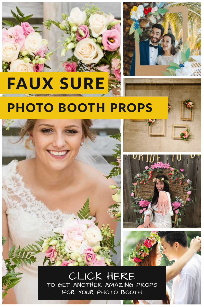 props for wedding photo booth