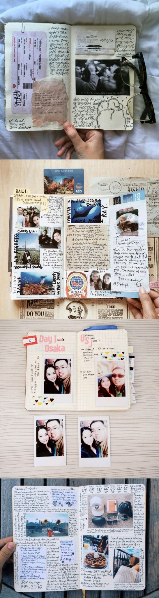 polaroid journal