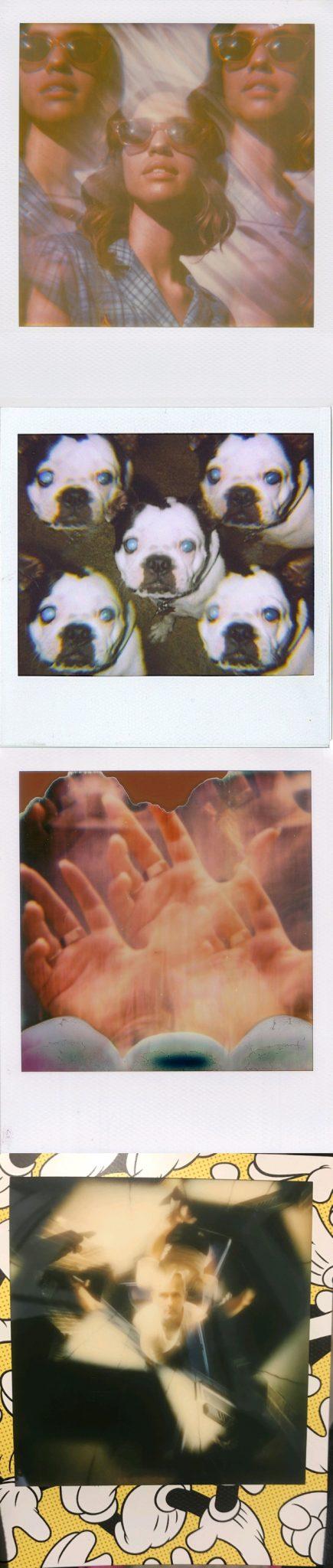 polaroid kaleidoscope