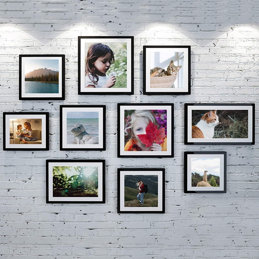 family photo display ideas creative living rooms