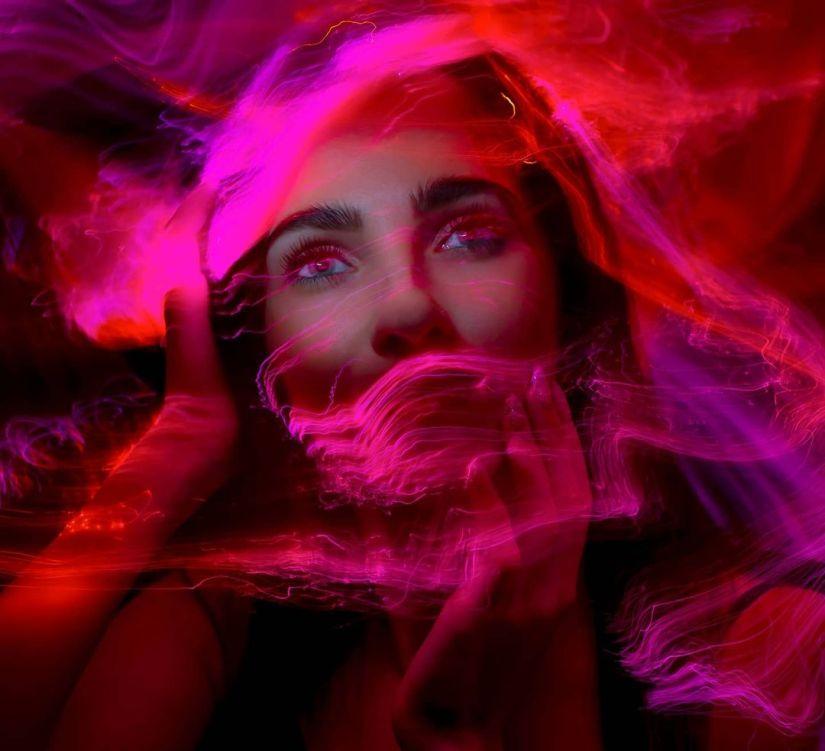 20 Amazing Double Exposure Light Painting Ideas