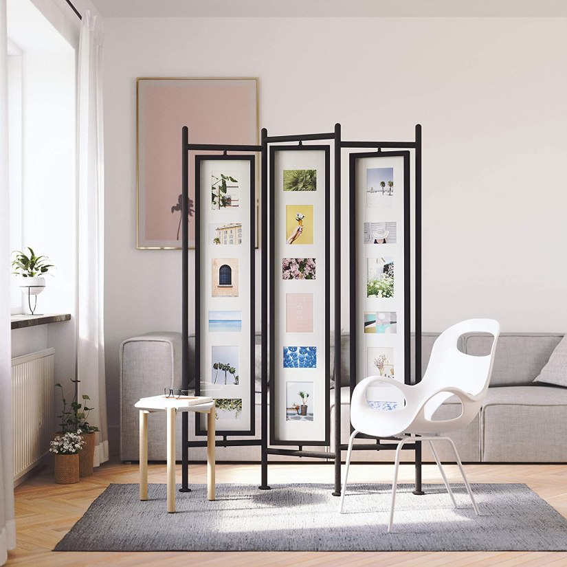 photo display ideas living room