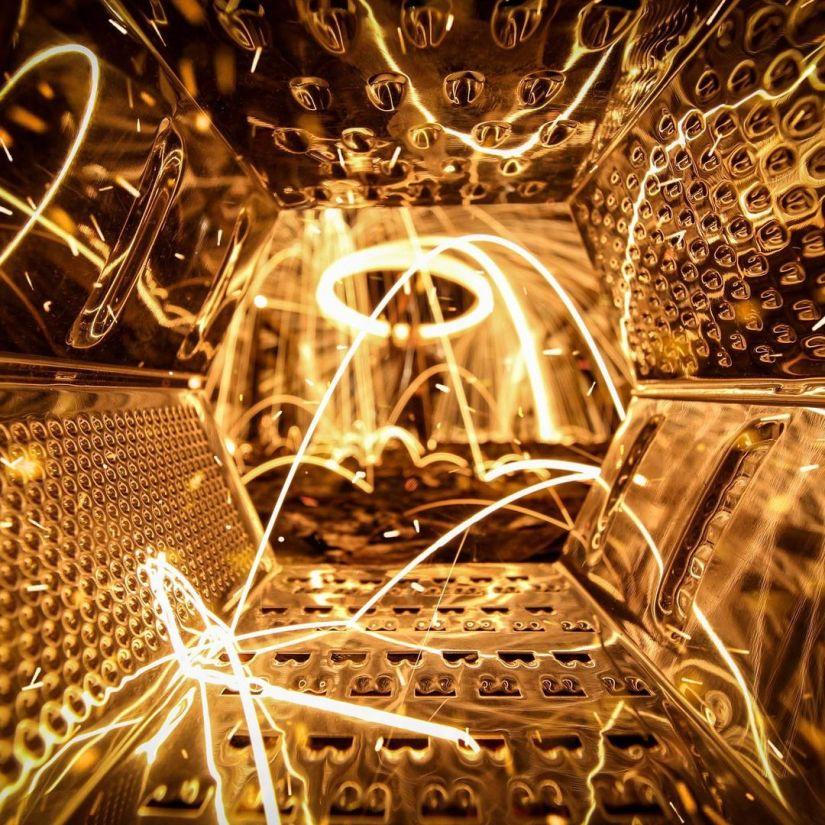Depth of Field Steel Wool Photography Ideas