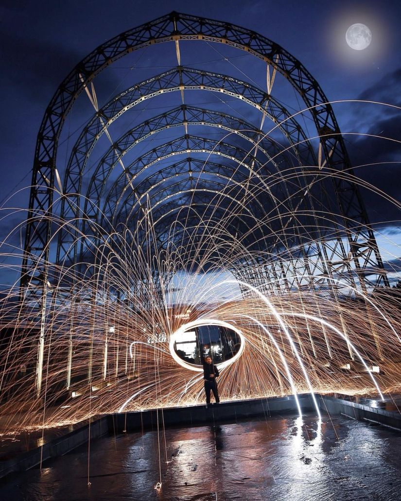 How to Make Horizontal Steel Wool Photography Ideas