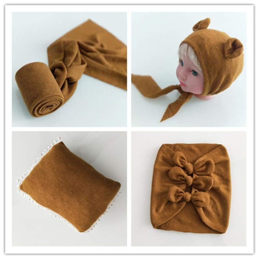 Newborn Photography Props Bow Wrap