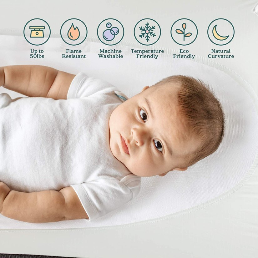 newborn photography props Crescent Womb Infant Safety Bed