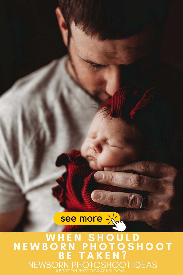 newborn photoshoot ideas, poses and props