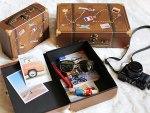 newborn props suitcase box ideas