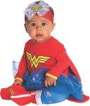 newborn wonder woman costume props