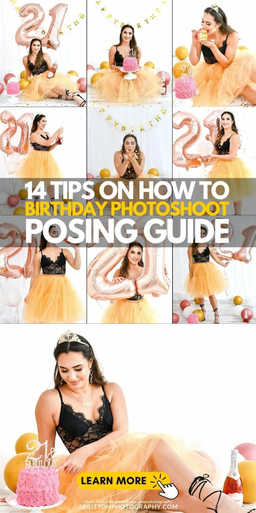 Simple Guide How to Photoshoot Your Birthday Ideas and Poses
