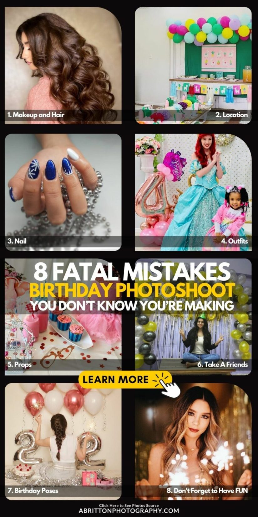 8 Fatal Birthday Picture Mistakes You Don't Know You're Making