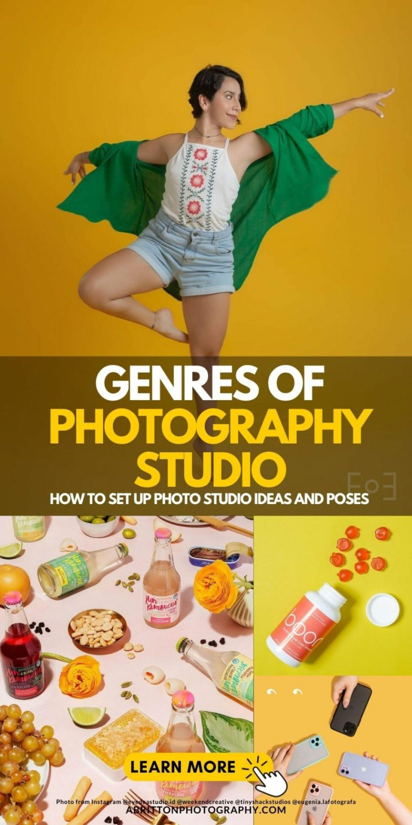 Genre of Home Photography Studio Ideas and Poses