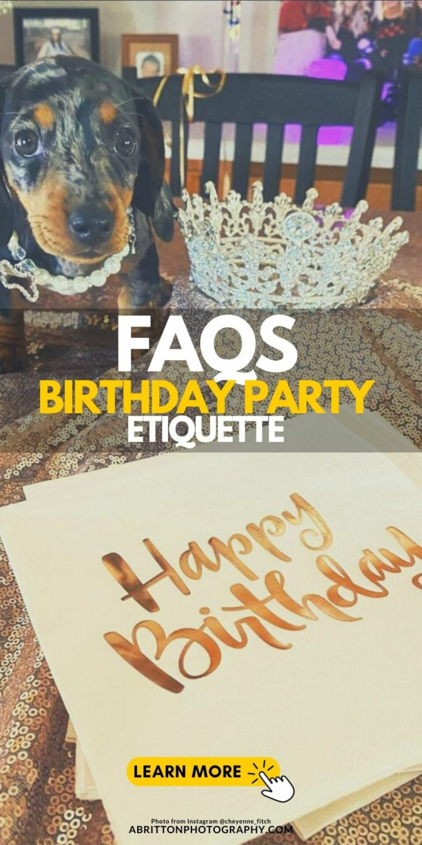 How to Plan a Birthday Party Picture Ideas and Props