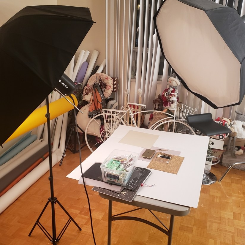 DIY How to set up home photoshoot studio ideas