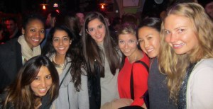 CBS Girls discovering Tunisian nightlife