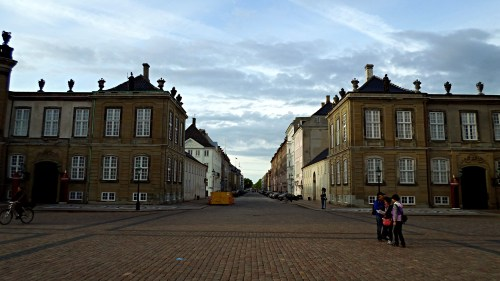 Late-Baroque Amalienborg Castle