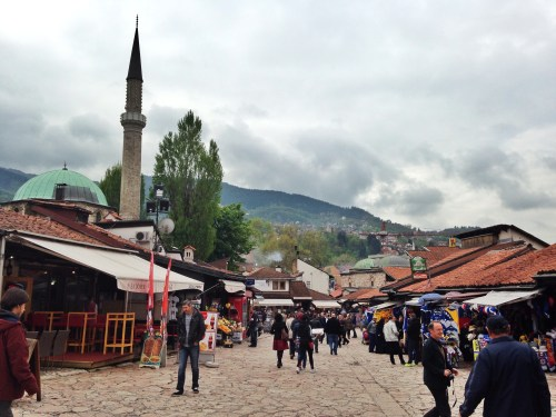 The eastern side of Sarajevo is a mini Istanbul