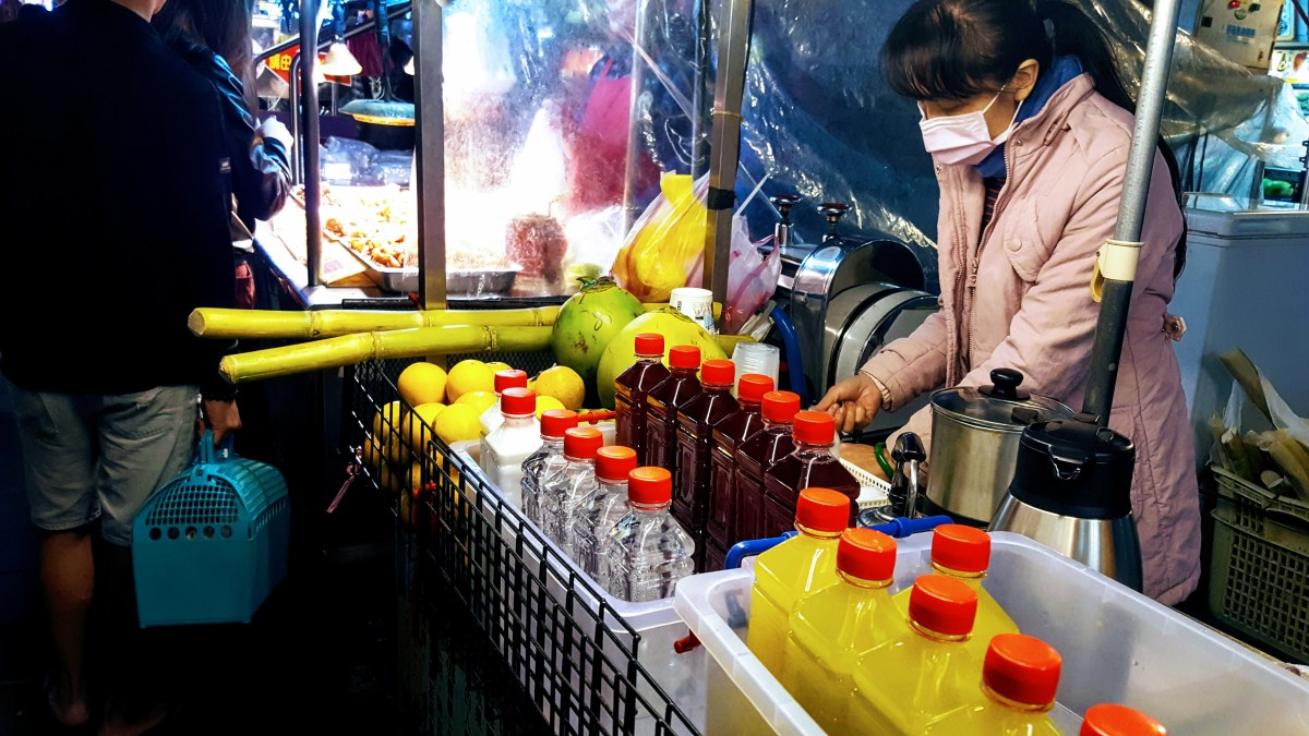 Eating My Way Through Taipei: Sweet Street Food