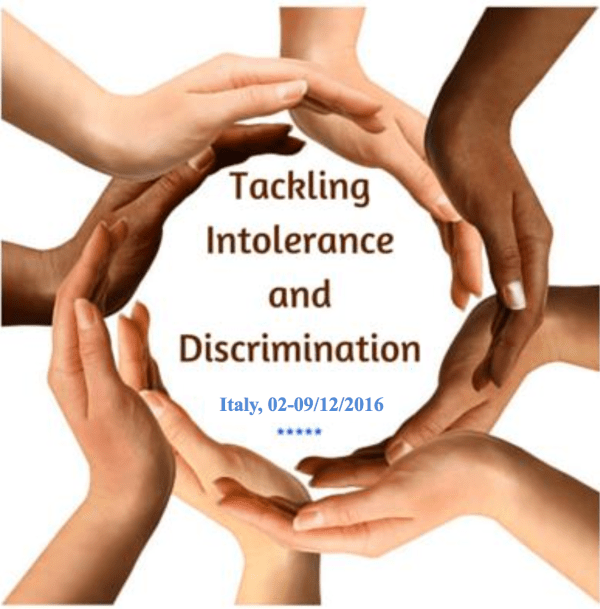 Tackling Intolerance and Discrimination - training course - italy - abrroadship.org