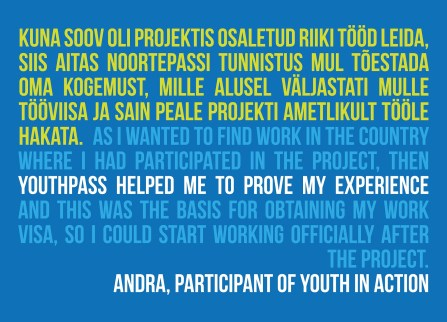 Stories of How Youthpass helped for real - Erasmus - abroadship.org