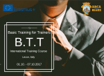 Basic Training for Trainers - Training Course - Italy - abroadship.org