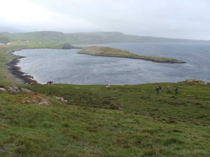 East or West - Outdoors is the Best - youth exchange - Famous Isle of Skye trail - abroadship.org