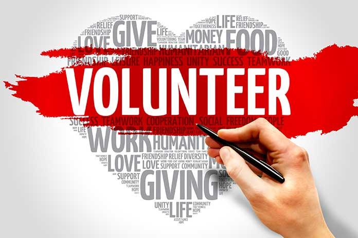 being a volunteer